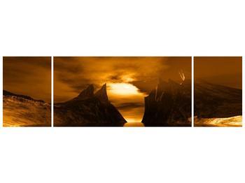 Obraz skály a pláže (F000300F17050)
