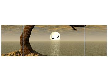 Obraz stromu u moře (F000325F17050)