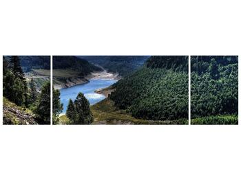 Obraz řeky a hor (F000615F17050)