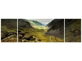 Obraz cesty uprostřed hor (F000621F17050)