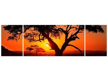 Obraz ohnivého západu slunce (F001288F17050)