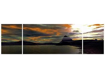 Obraz moře v temné obloze (F001564F17050)