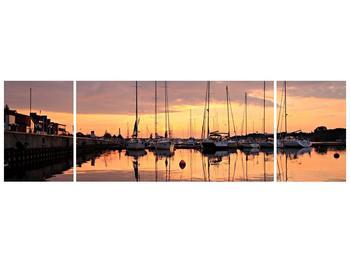 Obraz přístavu (F001605F17050)