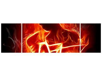 Obraz ohnivé postavy (F001691F17050)