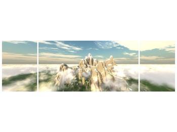 Obraz zasněžených vrcholů skal (F001715F17050)