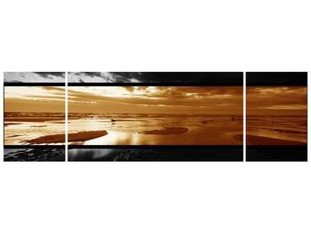 Dvroubarevný obraz moře (F001957F17050)