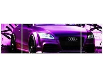 Obraz fialové Audi (F002349F17050)