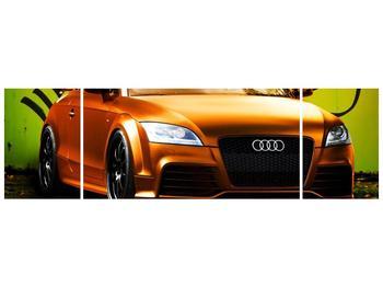 Obraz oranžové Audi (F002351F17050)