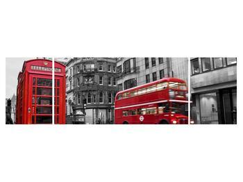 Obraz londýnské telefonní budky (K011222K17050)
