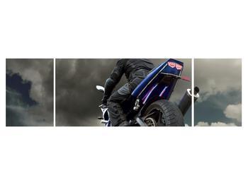 Tablou cu motociclist cu motocicletă (K011302K17050)