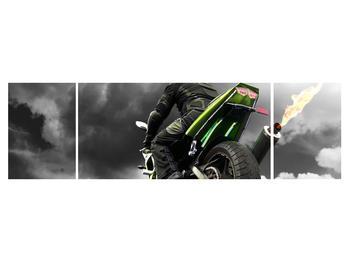 Tablou cu motociclist pe motocicletă (K011383K17050)