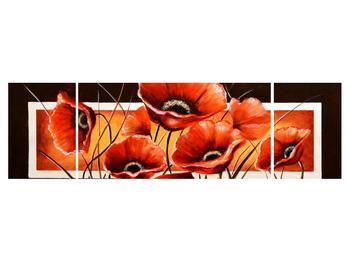 Obraz vlčích máků (K011508K17050)