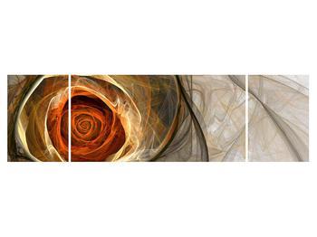 Tablou modern cu trandafir (K011863K17050)