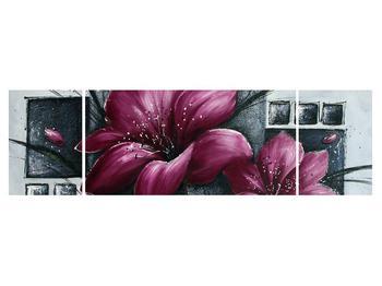 Tablou modern cu flori (K012355K17050)