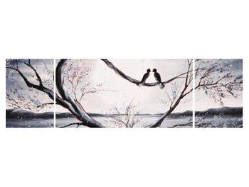 Tablou cu păsări îndrăgostite (K012516K17050)