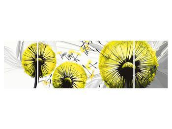 Tablou galben cu păpădii (K014028K17050)