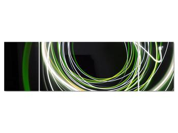 Obraz zelených čiar (V020054V17050)
