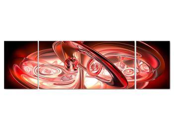 Obraz - červené tvary (V020064V17050)