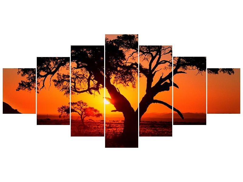 Obraz ohnivého západu slunce (F001288F210100)