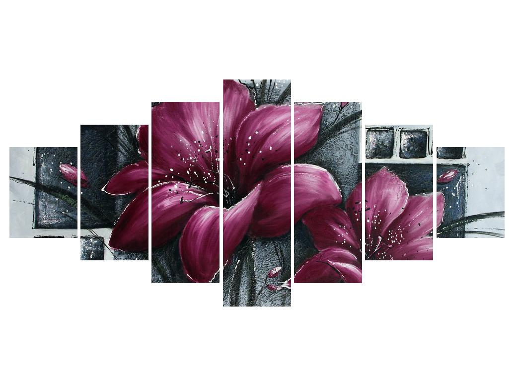 Tablou modern cu flori (K012355K210100)