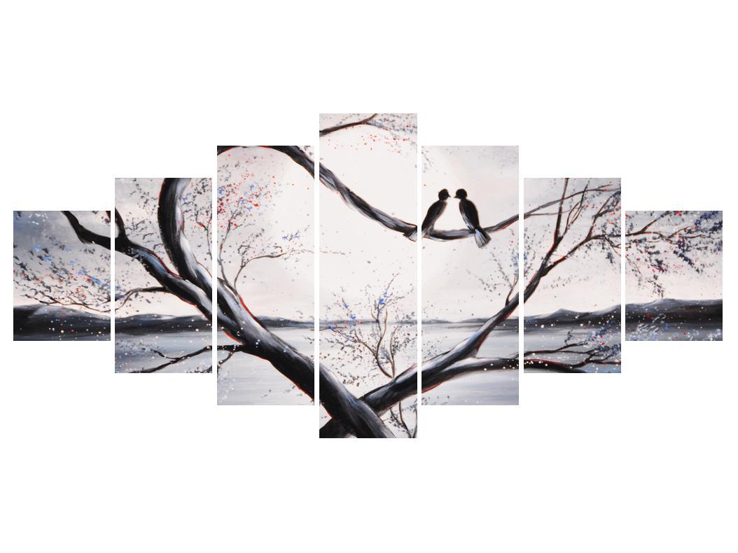 Slika zalljubljenih ptica (K012516K210100)