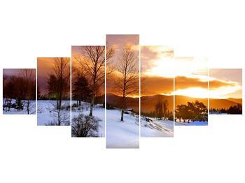 Obraz zimní krajiny (F000031F210100)