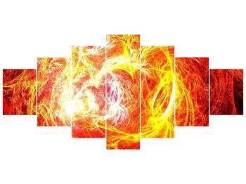 Abstraktní oranžový obraz (F000152F210100)