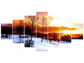 Obraz zimní krajiny (F000192F210100)