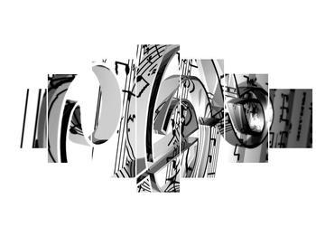 Moderní obraz houslového klíče (F000206F210100)