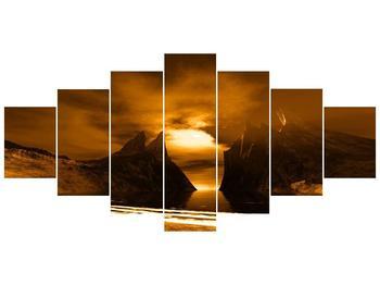 Obraz skály a pláže (F000300F210100)