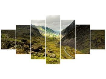 Obraz cesty uprostřed hor (F000621F210100)