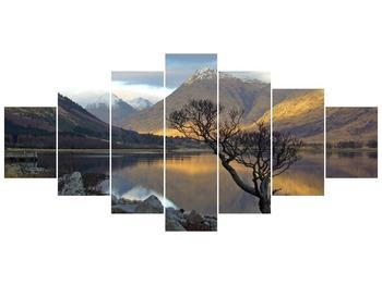 Obraz hor u jezera (F000686F210100)