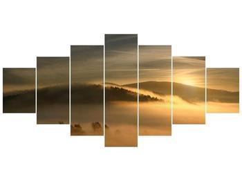 Obraz hor v mlze (F001451F210100)