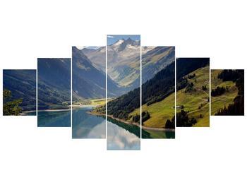 Obraz horského údolí (F001494F210100)