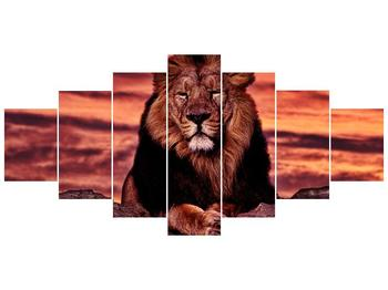 Obraz krále zvířat (F001507F210100)