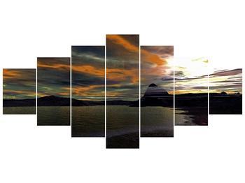 Obraz moře v temné obloze (F001564F210100)