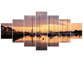 Obraz přístavu (F001605F210100)