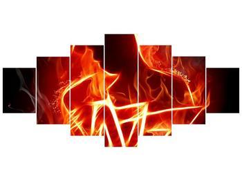 Obraz ohnivé postavy (F001691F210100)