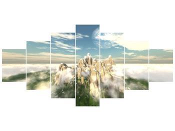 Obraz zasněžených vrcholů skal (F001715F210100)