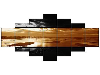Dvroubarevný obraz moře (F001957F210100)