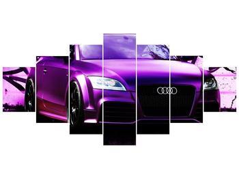 Obraz fialové Audi (F002349F210100)