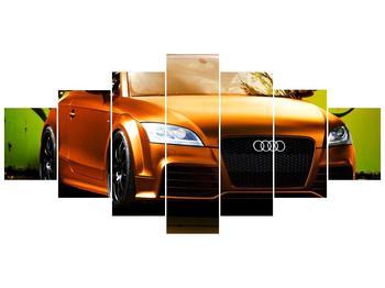 Obraz oranžové Audi (F002351F210100)