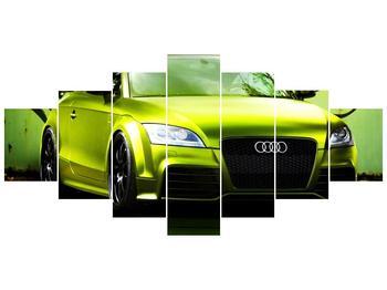 Obraz zelené Audi  (F003676F210100)