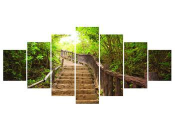 Tablou cu trepte ducând prin peisaj (K011329K210100)