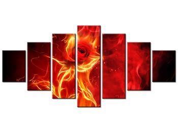 Obraz růže v ohni (K011397K210100)