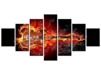 Tablou cu chitara  în foc (K011403K210100)
