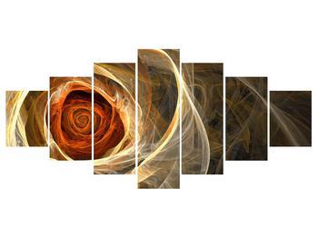 Moderní obraz růže (K011479K210100)