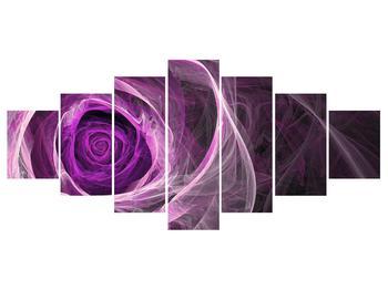 Moderný obraz fialovej ruže (K011482K210100)