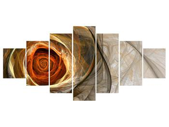 Tablou modern cu trandafir (K011863K210100)