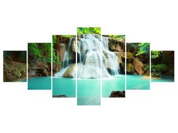 Obraz řeky s vodopády (K011969K210100)